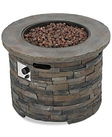 Hunter Gas Fire Pit, Quick Ship