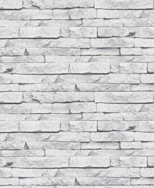 Graham & Brown Odysee White Wallpaper