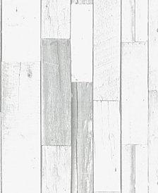 Graham & Brown Woody Gray Wallpaper