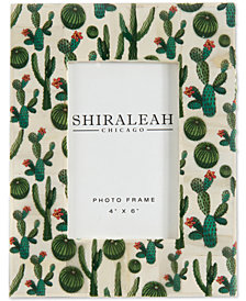 "Shiraleah The Wanderer Cactus Multi 4"" x 6"" Picture Frame"