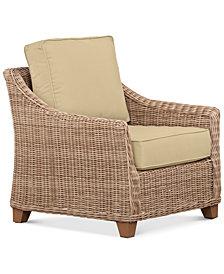 Willough Outdoor Club Chair Replacement Sunbrella® Cushion, Quick Ship