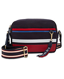 Tommy Hilfiger Canvas Camera Crossbody