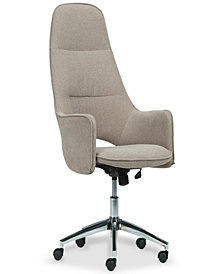Carynn Swivel Office Chair, Quick Ship