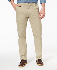 Dockers Men's Utility Cargo Straight Fit Khaki Stretch Pants