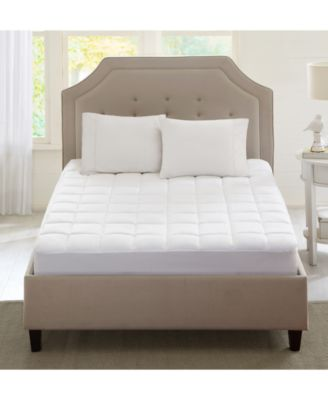 Sleep Philosophy Highline Quilted 3M Scotchgard Twin XL Microfiber Mattress Pad