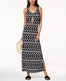 Trina Turk x I.N.C. Ikat Print Maxi Dress, Created for Macy's