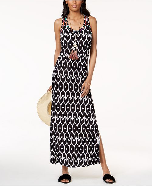 ecd514e0b1c INC International Concepts Trina Turk x I.N.C. Ikat Print Maxi Dress ...