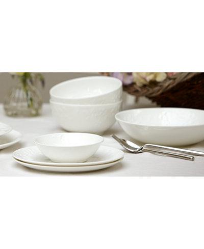 Wedgwood Wild Strawberry White Dinnerware Collection