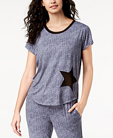 Ande Lush Luxe Mesh-Star Pajama Top