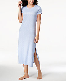 Ande Whisperluxe Space-Dye Maxi Sleepshirt