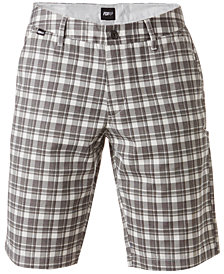 Fox Men's Essex Plaid Twill Shorts