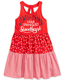 Epic Threads Little Girls Printed Tank Dress, Created for Macy's