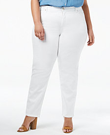 Lee Platinum Plus Size Gwen Straight Jeans