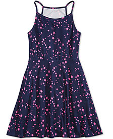 Epic Threads Big Girls Star-Print Skater Super-Soft Dress, Created for Macy's