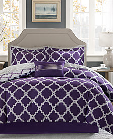 Madison Park Essentials Merritt Reversible 9-Pc. Full Comforter Set