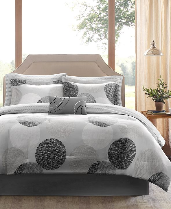 Madison Park Knowles 9-Pc. California King Comforter Set