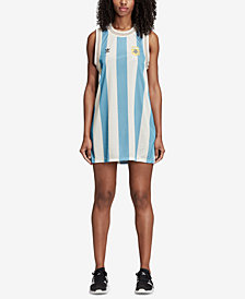 adidas Originals Mesh Argentina Soccer Tank Dress