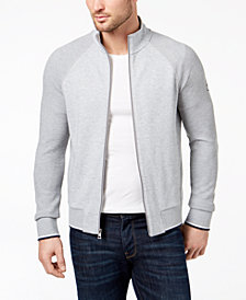 Michael Kors Men's Textured Block Track Jacket