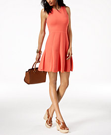MICHAEL Michael Kors Fit & Flare Dress