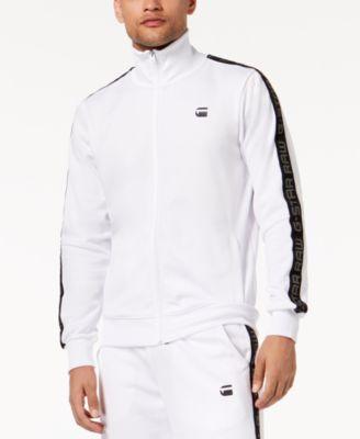 Men's Logo-Print Track Jacket, Created for Macy's