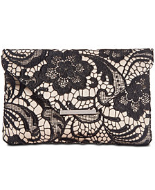 I.N.C. Lily Lace Clutch, Created for Macy's