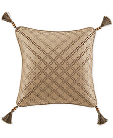 "Croscill Rea Fashion 16"" x 16"" Decorative Pillow"