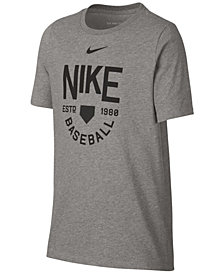 Nike Big Boys Baseball-Print T-Shirt