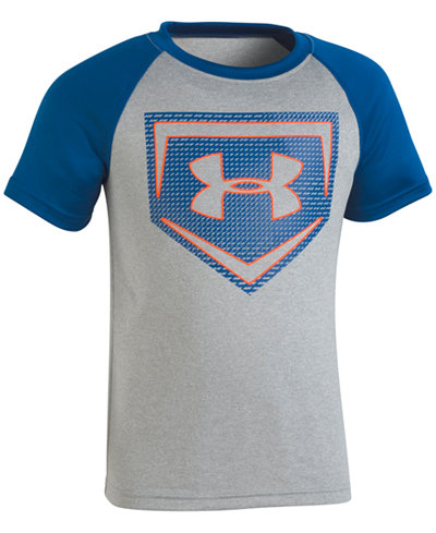 Under Armour Little Boys Home Plate-Print T-Shirt,