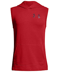 Under Armour Big Boys Threadborne Sleeveless Hoodie