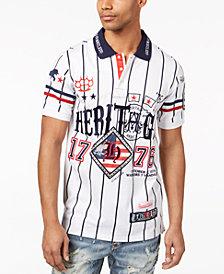 Heritage America Men's Jersey Polo