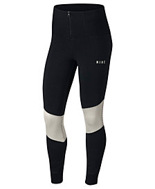 Nike Sportswear Dri-FIT Mesh-Trimmed Leggings