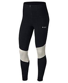 Nike Sportswear Dri-FIT Mesh-Trimmed Leggings