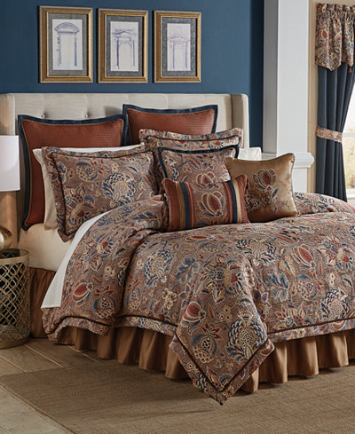 Croscill Brenna 4-Pc. California King Comforter Set