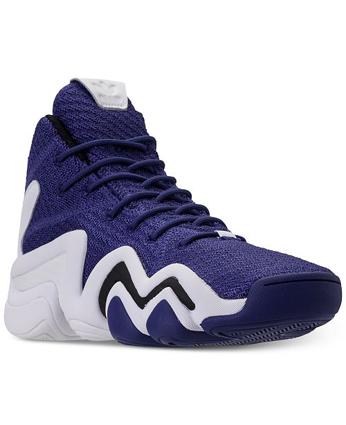 c45f73ed5d71 ... adidas Men s Crazy 8 ADV Circular Knit Basketball Sneakers from Finish  ...