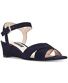 Nine West Laglade Wedge Sandals