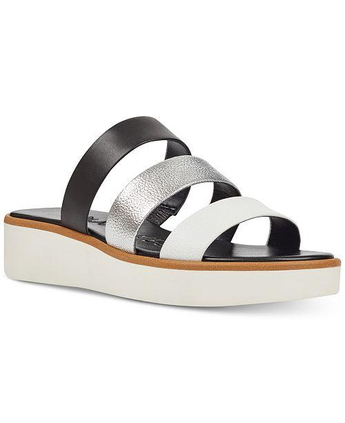 Nine West Zioli Flat Sandals Women's Shoes vkyHDesGW
