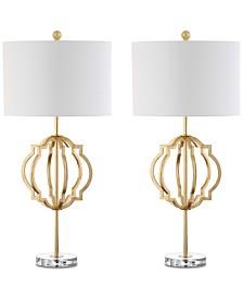 Safavieh Set of 2 Lynx Table Lamps
