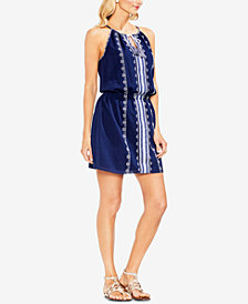 Vince Camuto Embroidered Cotton Dress