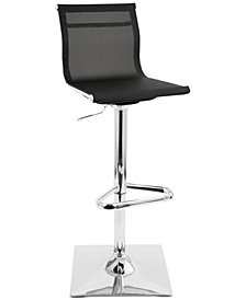 Mirage Adjustable Bar Stool, Quick Ship