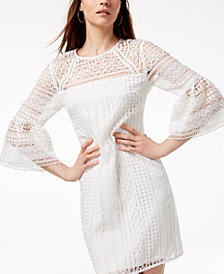 Trina Turk Cambria Crochet-Lace Dress, Created for Macy's