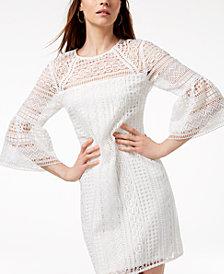 Trina Turk Cambria Crochet-Lace Dress, Created for Macy's