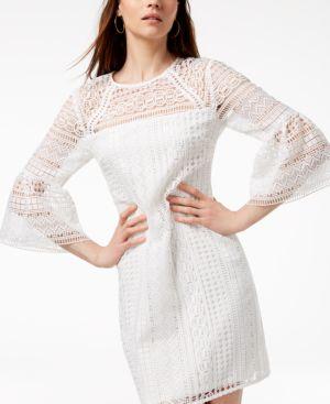 Trina Turk Cambria Crochet-Lace Dress, Created for Macy's 4911480