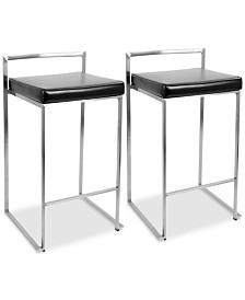 Fuji Counter Stool (Set of 2), Quick Ship