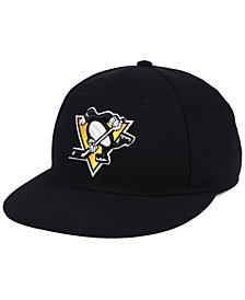 adidas Pittsburgh Penguins Basic Fitted Cap