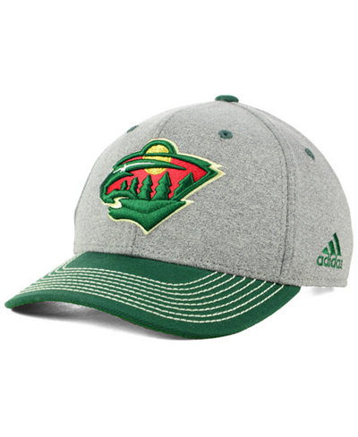 adidas Minnesota Wild Heather Line Change Cap