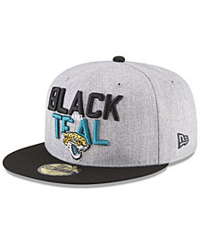 New Era Jacksonville Jaguars Draft 59FIFTY FITTED Cap
