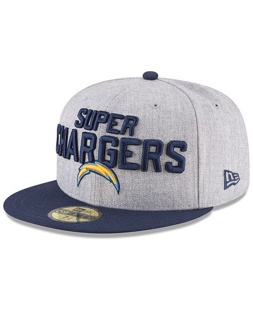 newest collection 4622d 0eb1e ... New Era Los Angeles Chargers Draft 59FIFTY FITTED Cap ...