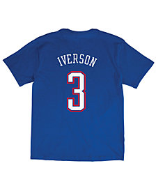 Mitchell & Ness Men's Allen Iverson NBA All Star 2004 Name & Number Traditional T-Shirt