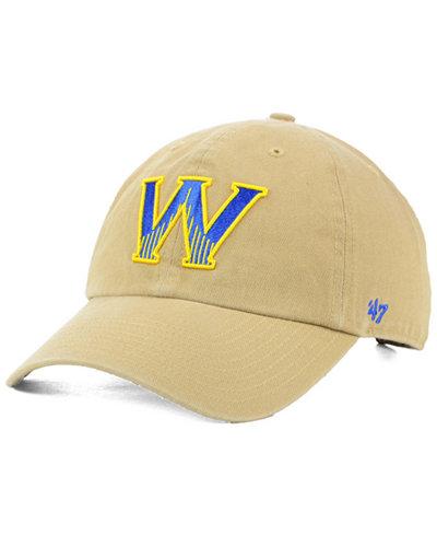 '47 Brand Golden State Warriors Mash Up CLEAN UP Cap