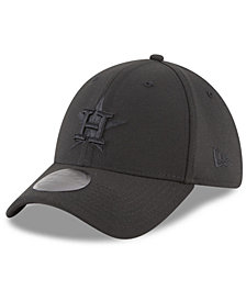New Era Houston Astros Blackout 39THIRTY Cap